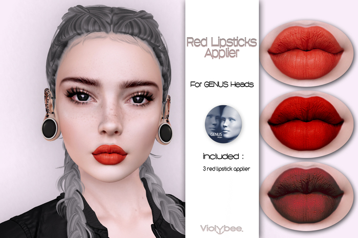 Violybee. Red Lipstick Applier (Genus)