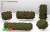 [MF] Mesh Wonderland Roses Hedges bushes FAT PACK BUILD KIT ()
