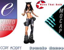' Move That Body  ' Female Dance Animation / Motion Capture / Extreme Animation / Gift