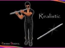 ::CreaTive DesiGn'S:: 0002 - Realistic Flute with Animation
