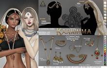 .a. Karishma . Long Necklace {Silver}