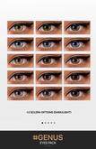 --- #PUMEC  -  Eyes Pack #1 -  FOR GENUS HEADS