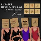 Phrases Head Paper Bag