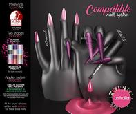Astralia - Compatible nails system (Pack 1) Maitreya/Vista/Slink/Belleza BENTO