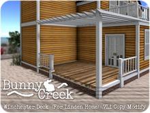 .:.Bunny Creek.:. Winchester Linden Home Rear Deck