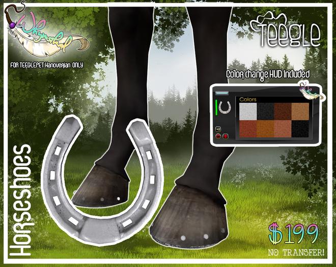 Horseshoe - Teeglepet - Hanoverian