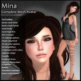 DD Complete Mesh Avatar - Mina - Bento Mesh Head & Hands