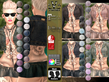 V-Twins- Casual Clothes - Brazen Color Version **MESH Outfit [Mesh Bodies Compatible] Maitreya Slink Belleza