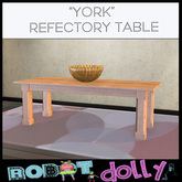 Robot Dolly - York Refectory Table