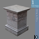 3D / Pedestal for Statues / 1 land impact