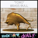 Robot dolly   toro brass bull