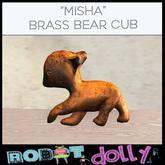 Robot Dolly - Misha Brass Bear Cub