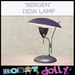 Robot Dolly - Bergen Desk Lamp