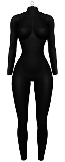 Elise Bodysuit — Onyx