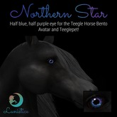 Lunistice: Northern Star Eyes (for Teegle)