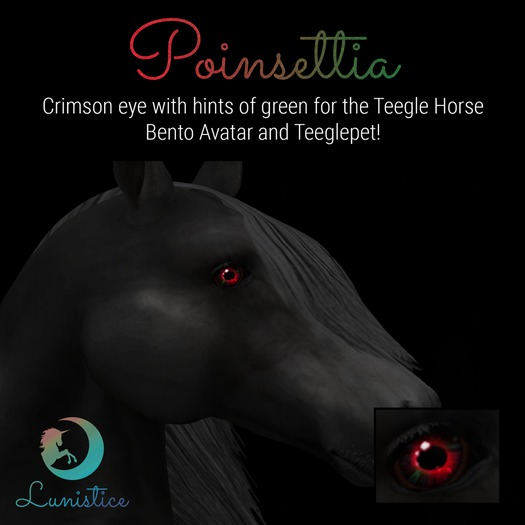 Lunistice: Poinsettia - Teegle Eyes