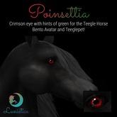 Lunistice: Poinsettia Eyes (for Teegle)