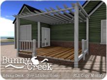 .:.Bunny Creek.:. Adams Linden Home Rear Deck