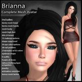 DD Complete Mesh Avatar - Brianna - Bento Head & Hands