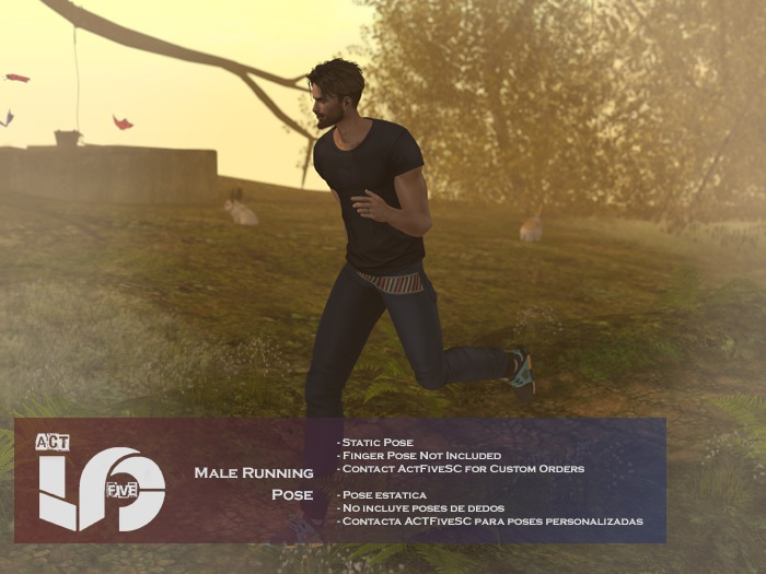 ACT5-175-Male Model Running Pose BOXED