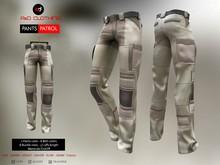A&D Clothing - Pants -Patrol- Natural-Brown