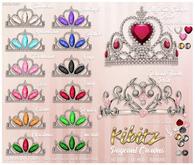 Kibitz - Princess tiara - amethyst