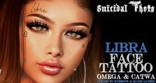 [Suicidal Thots] Libra Face Tattoo (rez & open)