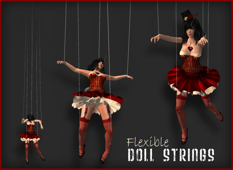 Marionette Doll Puppet Strings