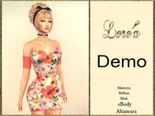 LR -Dress Flora demo