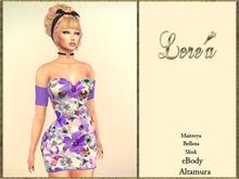 LR -Dress Flora violet