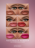 The Face ~ Catwa/Genus - Naturally ~ Make-up palette