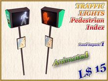 TRAFFIC LIGHTS Pedestrian Index (1 LI) Animated!