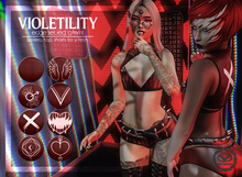 Violetility - Edge Set [Red]
