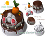 [ FULL PERM ] EASTER CAKE & BUNNY