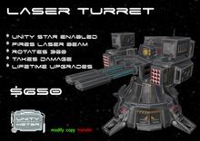 Unity Laser Turret 4 Crate