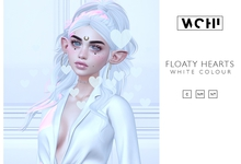 wchi // white floaty hearts