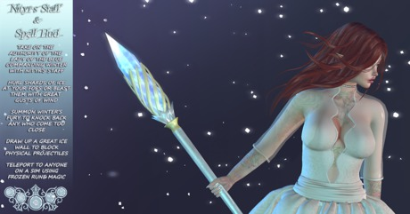 .~DN~. Nityr's Staff and Spells