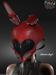 AZOURY - Armored Angel Helmet&Ears Red