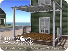 .:.Bunny Creek.:. Continental Linden Home Rear Deck