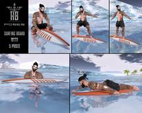 [HB] Surfing Board Male (Wear)