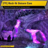 [FYI] Mesh 4k Unicorn Cave