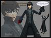 Avatar Joker Persona 5 (100% mesh, Bento)