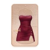 Cynful Unapologetic Denim Dress - Berry  [Maitreya Lara, Belleza (Isis + Freya), Slink (HG)