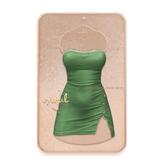 Cynful Unapologetic Denim Dress - Green  [Maitreya Lara, Belleza (Isis + Freya), Slink (HG)