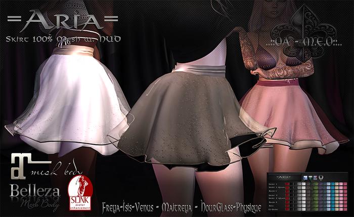 PROMO *OA-MEO* =Aria= Skirt - GroupGift