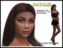 TMS - NATALIE SHAPE AND STYLE CARD*