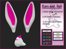 Ears and tail (Bunny) - Bento animation