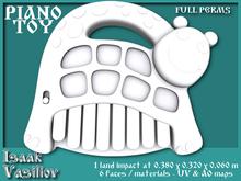 Piano toy - 1 LI - FULL PERMS Mesh