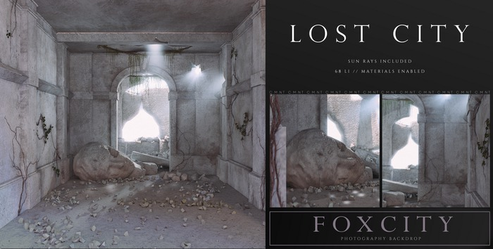 FOXCITY. Photo Booth - Lost City (HUD. Wear me)