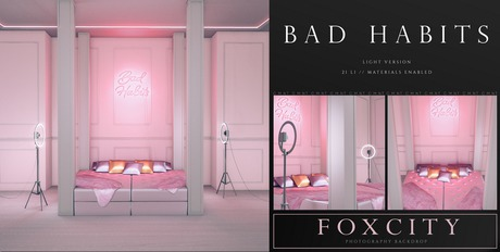 FOXCITY. Photo Booth - Bad Habits (Light) (HUD. Wear me)